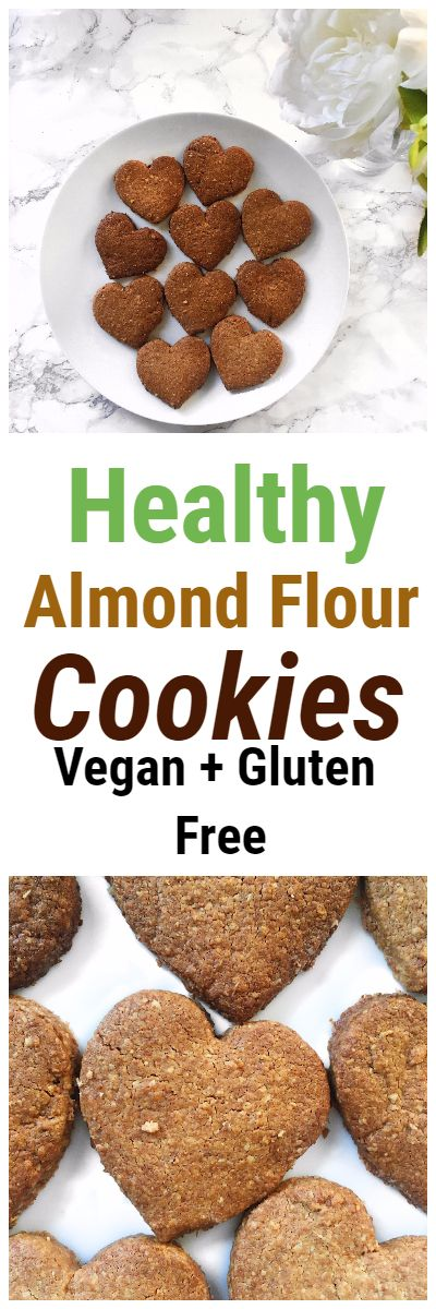 Healthy Gluten Free Almond Flour Cookies Recipe #cookies #biscuit #almondflour #glutenfree #almond #healthy #recipe #easy #snack #dessert #breakfast