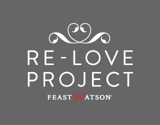 The Feast Watson Re-Love Project follows the up-cycling or 're-love' journey of numerous Australian designers. Using a range of Feast Watson woodcare products, the designers transform a worn piece of timber furniture into a stunning, unique statement piece.  Design enthusiasts (like YOU!) will have a chance to take home one of these beautiful timber creations, as when completed, all re-loved Feast Watson items will be auctioned on eBay, with proceeds going to Salvos Stores.