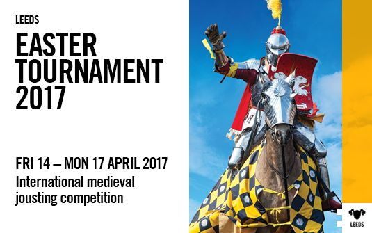 TOURNAMENT 2017 Starts at: 10:00am Friday 14 April 2017 Finishes at: 5:00pm Monday 17 April 2017 Location: Leeds Suitable for: Everyone Event type: Horse show