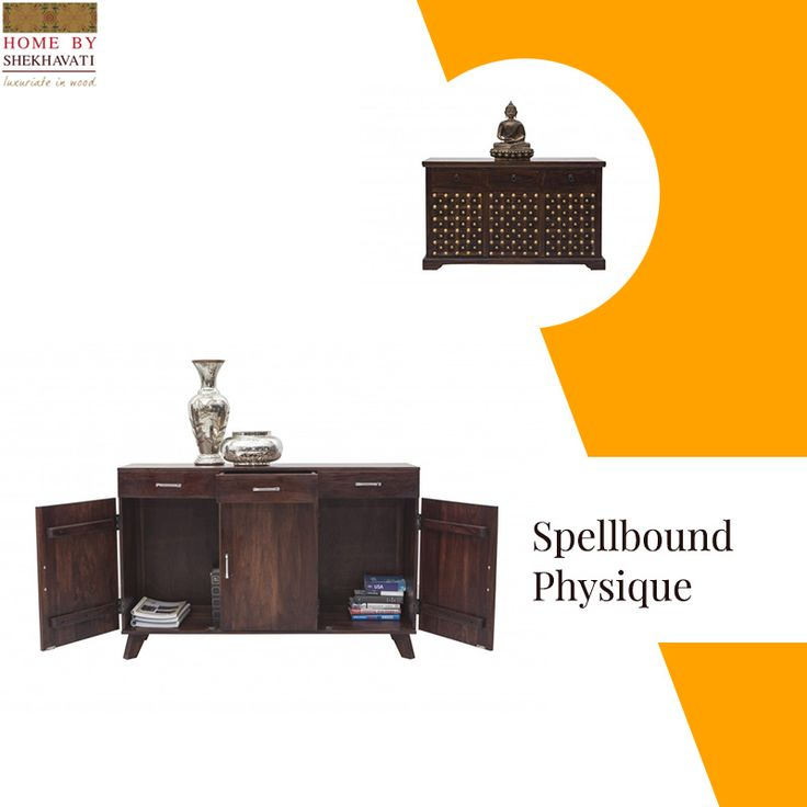 Furniture has to stand a lot of things. That's why they should be strong enough to endure everything. The beautiful sideboard from Home By Shekhavati gives you great space to keep all your lovely belongings adding a unique element of style to any room you place it in. To buy such strong furniture, visit www.homebyshekhavati.com .