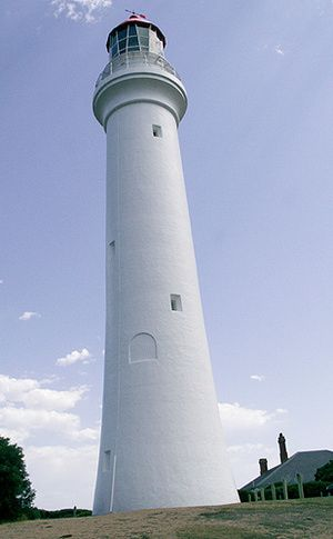Australia's Split Point Lighthouse -- the White Queen - © Kathleen Crislip