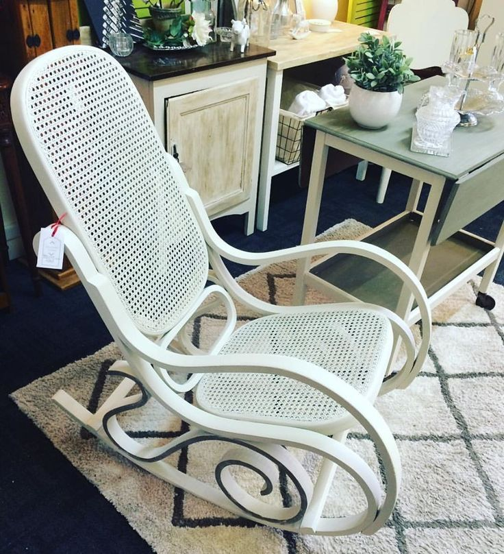Bent Wood Rocking Chair Makeover