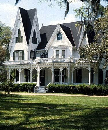 636 Best Gothic Revival Victorian Houses Images On