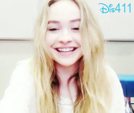 Video: Sabrina Carpenter's Live Chat August 12, 2014