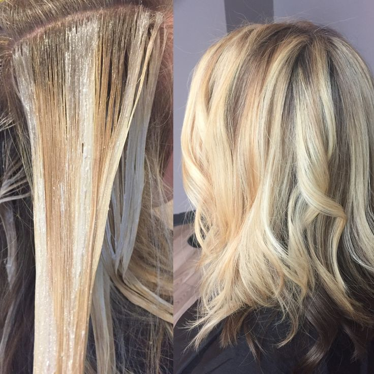 Partial balayage with natural lowlight..keeping natural color as a contrast  underneath