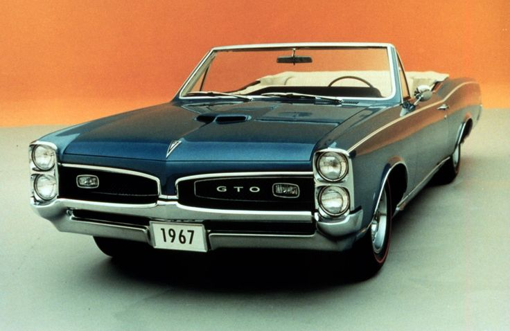 1967 GTO- my dad had one, it was his favorite. He still talks about it all the time...