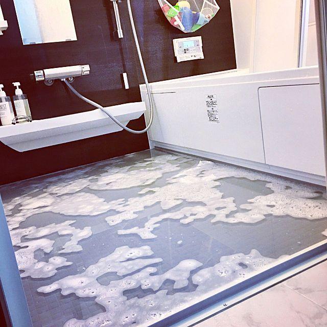 オキシクリーンで浸け置き 家中をピカピカにするワザ オキシクリーン お風呂 オキシクリーン 風呂 床 掃除