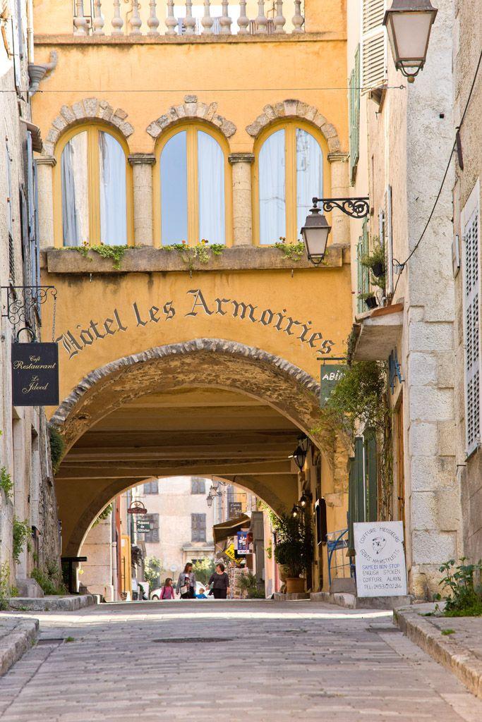 Valbonne, medieval village near Cannes, Côte d'Azur, PACA, France