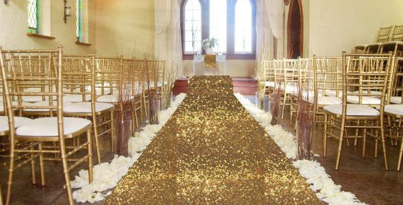 Aisle runner wedding, aisle runner, Sequin aisle runner, GLITZ aisle runner, sequence, wedding decor, glam wedding, ceremony, all colors by FantasyFabricDesigns on Etsy