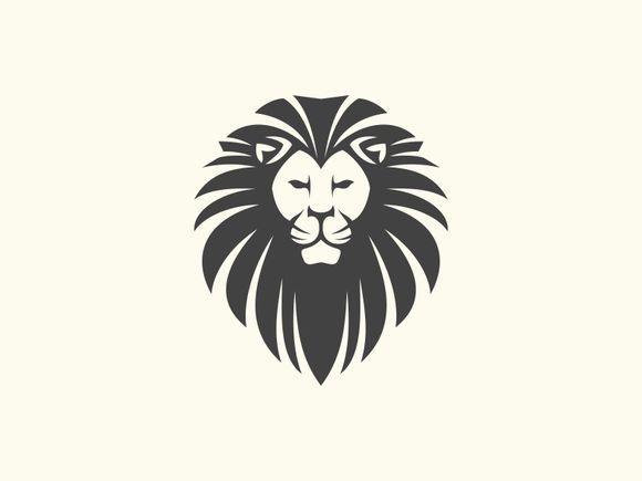 Lion Head by Brandlogo on @creativemarket