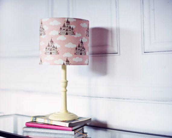 Castle Nursery Lamp S Room Decor Cloud Lampshade
