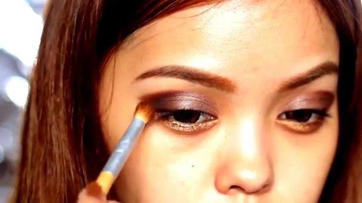 Chocolate Eyes Beauty Makeups
