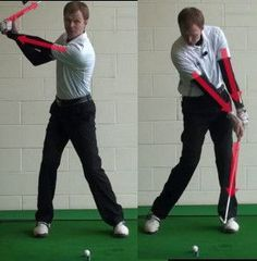 Tips to Cure an Early Golf Swing Release 1 (....note to self: When the hands lead the downswing bad things happen.)