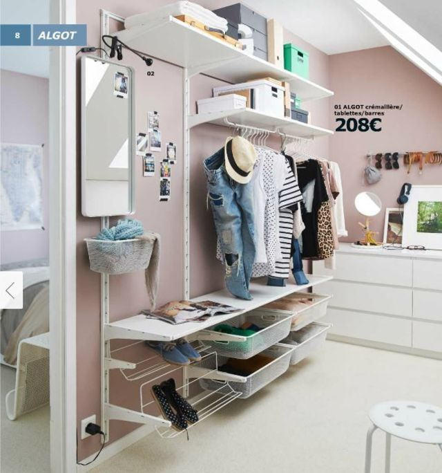 25 best ideas about ikea algot on pinterest ikea closet system ikea close - Ikea armoire de rangement ...