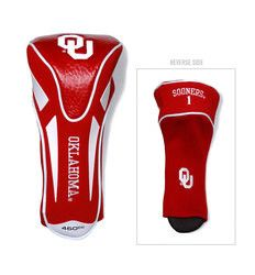 Oklahoma Sooners Golf Headcover - Single Apex Jumbo