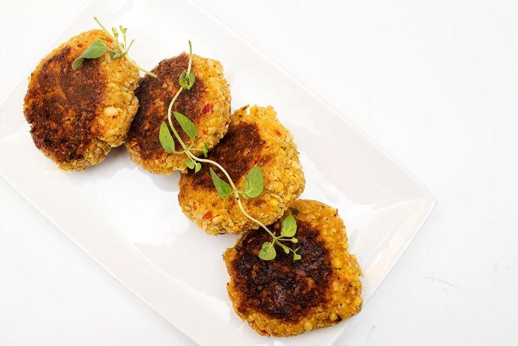 veganske kikertkaker middagskaker oppskrift