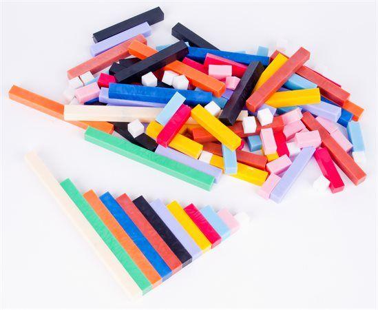 SZÁMOLÓRÚD KÉSZLET 120 db - Színesrúd készlet  Ajánlott korosztály általános iskola 1-től 4. osztályig. Matematikai segédeszköz a mennyiségek szemléltetéséhez. Tartalma:  összesen 120 db műanyag rudacska