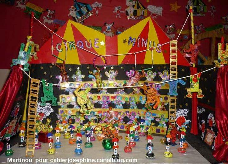 Maquette de cirque cirque pinterest d cor et recherche for Decoration porte arts visuels