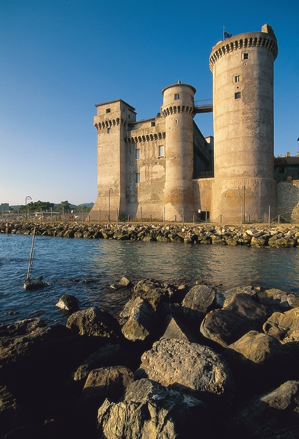 Santa Severa Castle, Rome, province of Rome Lazio  http://www.euroguides.eu/euroguides/italy/rome.html