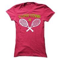 I Love Tennis - Shirts[Hot]