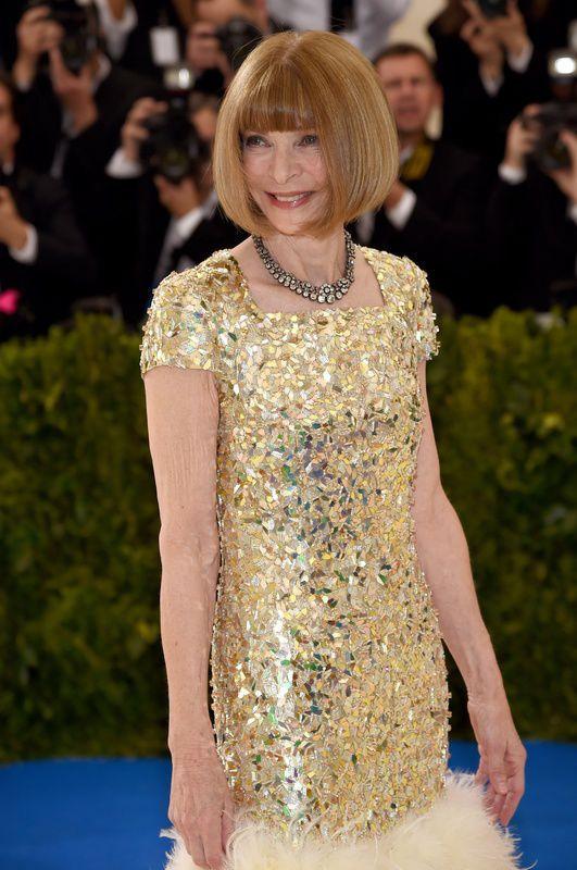Anna Wintour - Met Gala 2017, sukienka Chanel