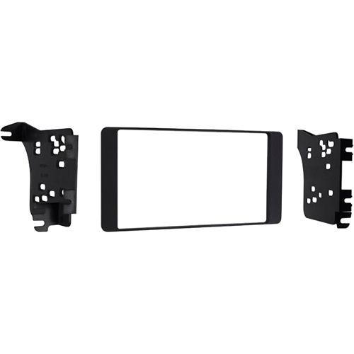 Metra - Double DIN Installation Kit for Mitsubishi Outlander Sport 2014-up - Matte black