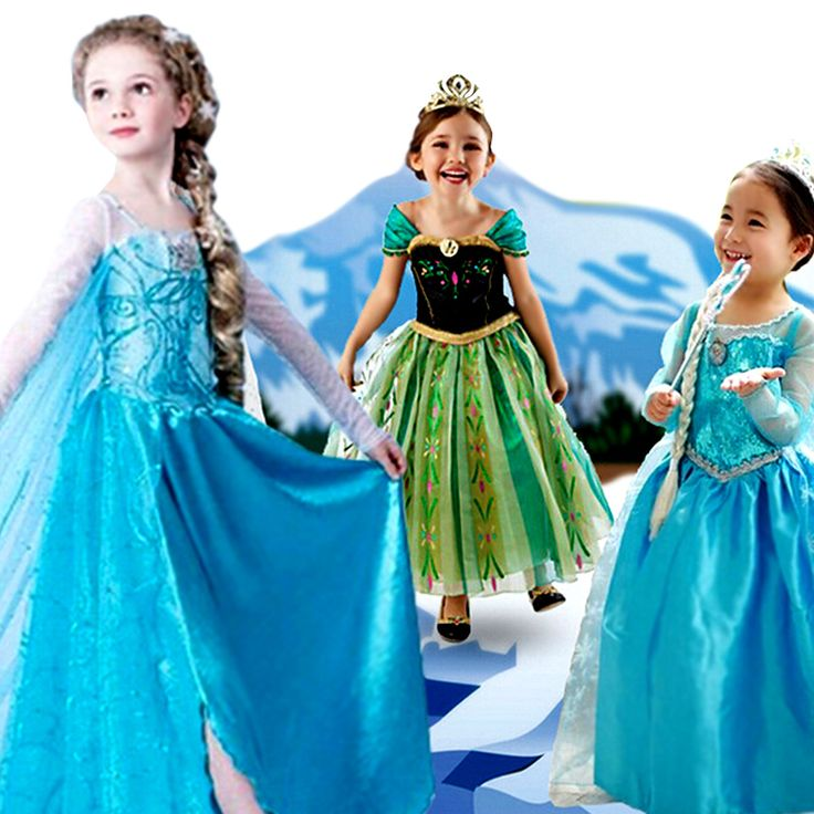 >> Click to Buy << Girl princess dress gown carnival costumes for girls child new year dress for girls baby party frocks infant long #Affiliate