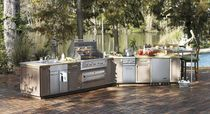 Barbecue a gas / in acciaio inossidabile