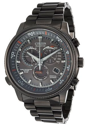 """Citizen Men's AT4117-56H """"Nighthawk A-T"""" Stainless Steel Eco-Drive"""