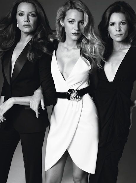 Blake Lively and her two older sisters