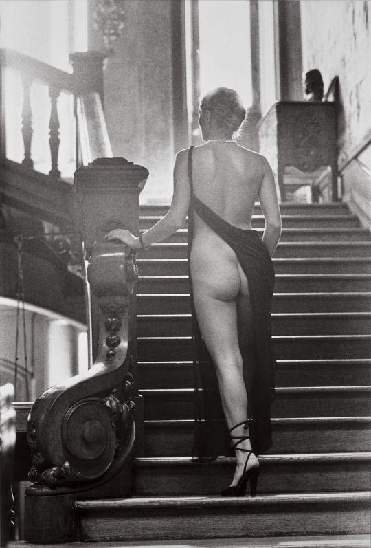 Roselyne, Arcangues, France, 1975  by Helmut Newton