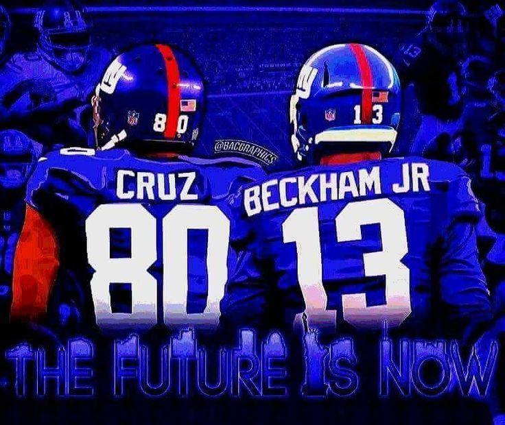 6d1c3870 Womens New York Giants 13 Beckham JR Blue 2015 New Players Jersey