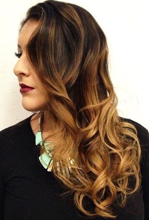 100 caramel highlights ideas for all hair colors - 500×738