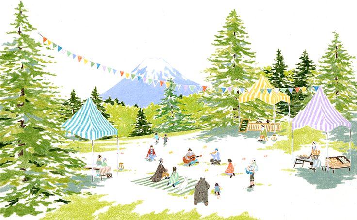 森のカフェフェス 2013