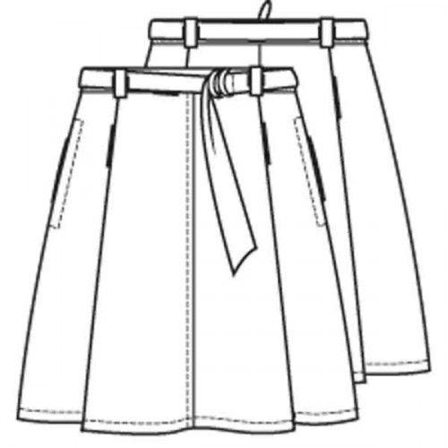 Pattern skirt (PDF pattern) | Ladies | Knipmode sewing patterns | Knipmode