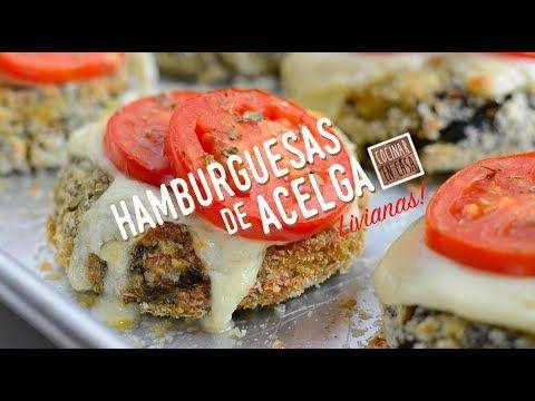 Hamburguesas de Acelga - Hamburguesas Vegetales | Video receta fácil de preparar para cocinar en casa todos los días