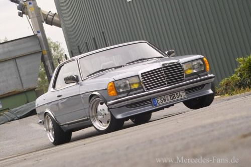 1980 Mercedes 230 CEwww.german-cars-after-1945.tumblr.com -...
