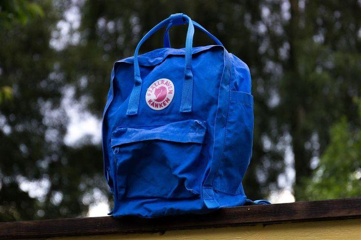 Fjällräven Kånken Royal blue på Tradera.com - Ryggsäckar | Väskor |