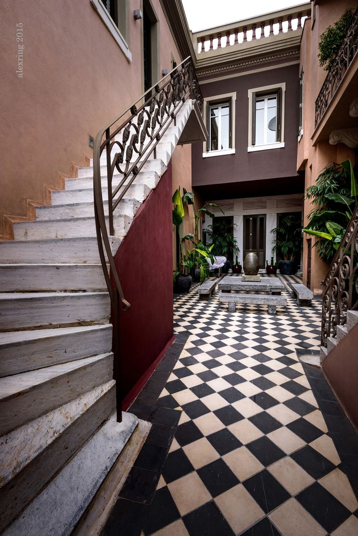 231 best images about athina kai pali athina athens again for Courtyard renovation ideas