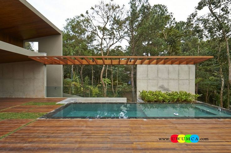 Swimming Pool Pool Decks Marvelous Wooden Deck Around A
