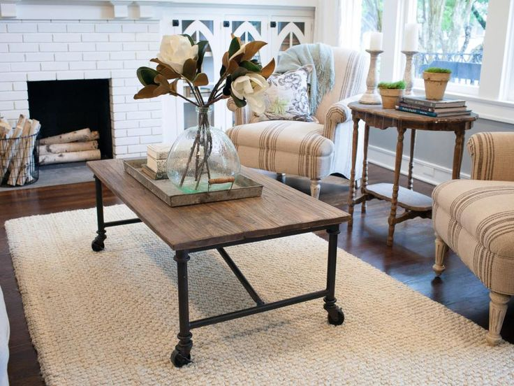 Image Result For Image Result For Farmhouse Coffee Table White And Brown