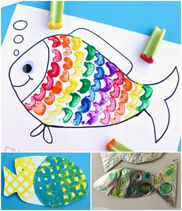 Best 25 fish crafts kids ideas on pinterest fish crafts for Best fish for kids