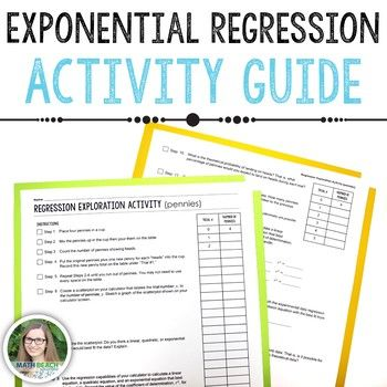 Exponential Regression Exploration Class Activity Guide