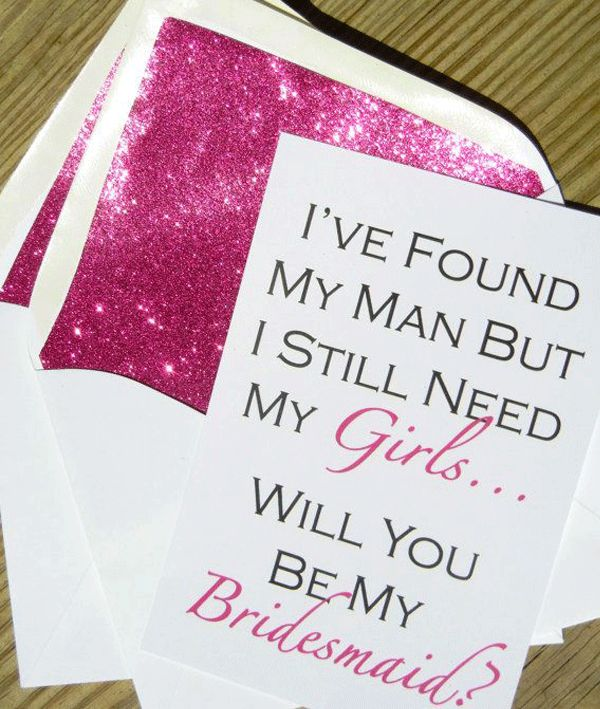 pink bridesmaid invite // brides of adelaide magazine