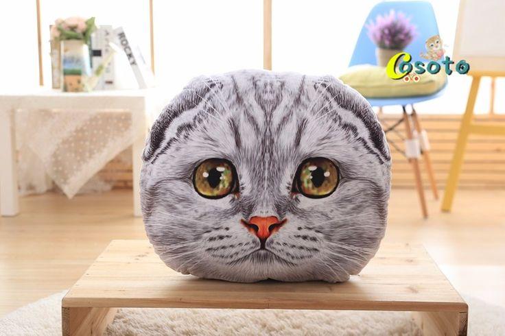 Творческий Мультфильм подушку подушки диванные подушки офис поясничной подушки и моющиеся кровать подушку кошка подушка подушки купить на AliExpress