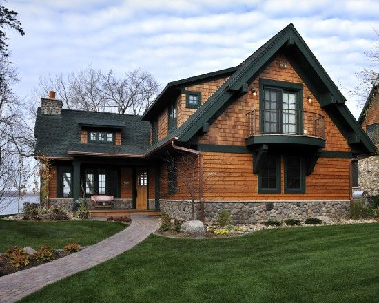 20 curated cedar shakes and shingles ideas by for Stone and cedar homes