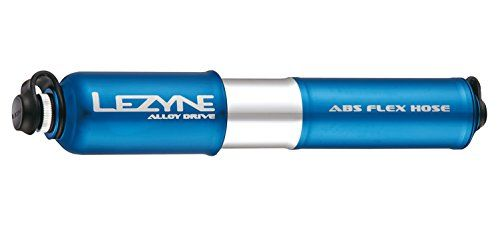 Lezyne CNC Alloy Drive Hand Pump High Volume Medium BlueSilver * Details can be found by clicking on the image.