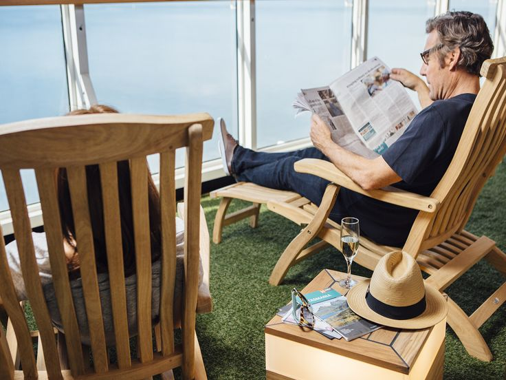 Grab a drink and soak up some sun up on Deck 10