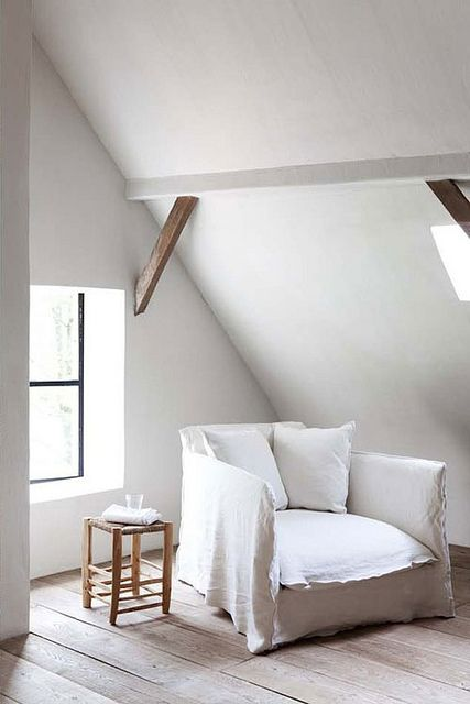 white armchair: designer brand or ikea? by the style files