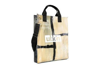 아티스틱 업사이클링 브랜드, 얼킨. ARTISTIC UP-CYCLING BRAND, UL:KIN  예술가의 습작으로 가방을 만드는 업사이클링브랜드로, 예술가의 라이프스타일과 표현방식으로 디자인을 전개합니다.
